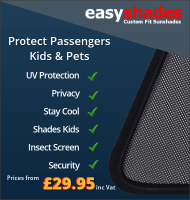 Easy shades car sun blinds UV Protection