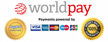 Worldpay Secure Online Payments at Easyshades